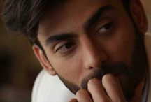Fawad A. Khan / Charming face, hot personality, killer eyes, lovely hair, beards makes him look more sensual  A smile that can set one's day  He's virtual definition of love