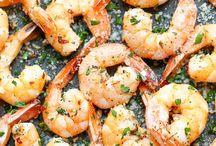 Garlic Parmesan shrimp / Appy