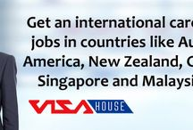 International careers