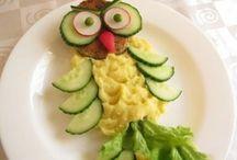 украшение еды для детей