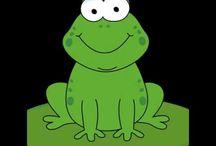 tranquilo y atento como una rana