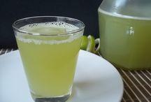 suco de limão e capim santo