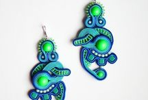 my soutache jewelry / the things I created
