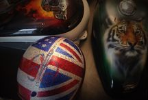 AP Customs / Custom airbrushing by Sam Hubbard @ AP Customs. Contact sam@apcustoms.co.uk Www.apcustoms.co.uk