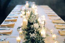 Bridal table ideas