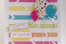 Celebrations / Samples made with the Craftwork Cards Celebrations kit