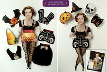 Halloween Paperdolls / by Jean Keeler