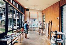 Studio Spaces / by Renee Michelle