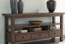 Console TV Table