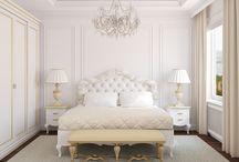 classic white interiors