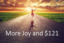 Increase Joy / You expressed interest in living an enlightening life, and I have a new offer for you! I will increase your joy in life and pay you for it!  Give me 30 minutes a day, for 21 days, and I guarantee I will increase your joy. Imagine, being happy and money in your pocket! Do you think that you can find the 30 minutes a day to make a profound, guaranteed powerful effect in your life? How about if you were paid to learn to increase your joy?   http://jdzuduso.megaph.com