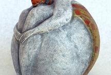 Ceramic-human figures