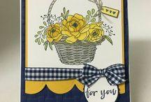cards--SU--Un blossoming basket