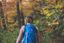 Outdoors {Hiking the Smokies} / Hiking in the Great Smoky Mountains, Pigeon Forge, and Gatlinburg areas in Tennessee.