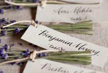 Place card weedings. Pequeñas tarjetas para bodas / by Postres y Decoraciòn Juana Alvaro R.