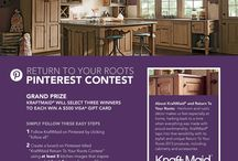 KraftMaid Return To Your Roots Contest / contest