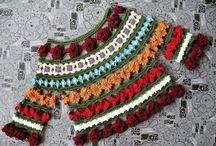 Crochet Women's Floral Top