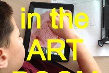 Ipad in the art room