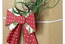 christmas gift wrapping / by Judy Rosmus