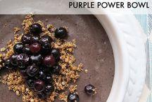 Blueberries / Wonderful ways to eat blueberries!