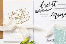 Wedding Stationery - Convites de Casamento
