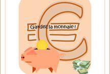 Gardez la monnaie ! / Lapbook sur l'histoire de la monnaie de l'Association Carpe Diem