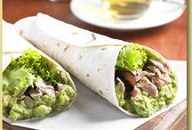 Taco, torilla's, naanbrood, bladerdeeg