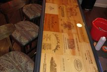 Outdoor bar top ideas / by Wendy Lane