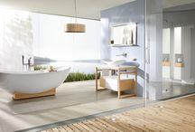 Aranżacje łazienki / Oryginalna aranżacja łazienki. Ciekawe produkty łazienkowe.