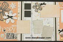 Scrapbook page / by Kristen Derrick