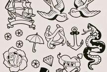 ship tattoo & old school