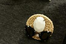 Moï / Handmade,broach,accessories