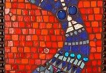 Mosaic woman African