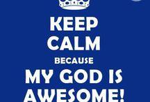 Keep calm always