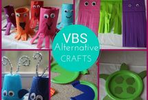 submerged VBS crafts