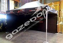 Carpas plegables de 3x4.5m / Fabricantes de carpas plegables profesionales de calidad. Carpas europeas para eventos, ferias, fiestas....