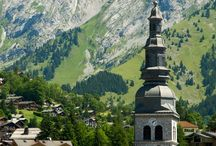 About... French and swiss Mountains. Places and peole. Formerly and today