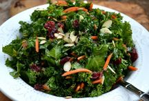 Kale salad / Yummy and it's good
