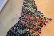 Tattoos - butterflies / by Lori Williams
