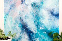 Абстракция - море