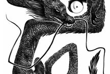 Illustration - B&W