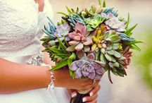 Wedding bouquets / [♡Fil d'Épices♡ Jewels of custom-made wedding] www.fildepices.com