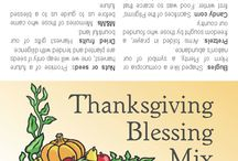 Thanksgiving Blessings / by Lindy Nelson