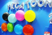 Megacolors / Colorindo ainda mais a sua festa!