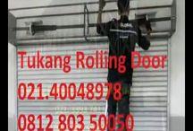 CARA REPARASI ROLLING DOOR - 081280350050