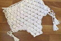 szorty na szydełku - crochet shorts