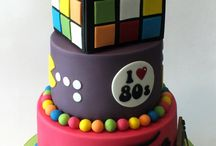 Disco themed cakes
