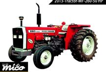 MF 260-50 HP / This Model Of Massey Ferguson Farm Tractor Has Perkins / Ad 3. 152 Engine, 2 Reverse Gear, Oil Bath Cleaner, 3 Cylinders Direct Injection, Manual Steering, Lift Capacity With 1,415 Kg, And Lift Capacity With 1,415 Kg.