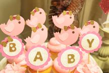 Baby shower - Shaby Chic little birdy theme