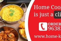 Home Cooked Online Food Ordering / Home-kitchen.co.in, a group of home-makers introduces authentic and hygienic home cooked food delivery services in Vadodara.